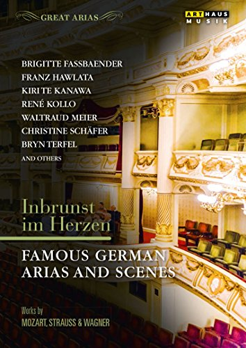 DVD - Inbrunst im Herzen - Famous German Arias And Scenes - Works By Mozart, Strauss & Wagner (Great Arias) (Kanawa, Kollo, Schäfer, Terfel, a.o.)