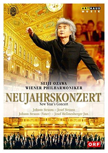 Ozawa , Seiji & Wiener Philharmoniker - Neujahrskonzert - New Year's Concert (Strauss, Strauss, Strauss, Hellmesberger Jun.)