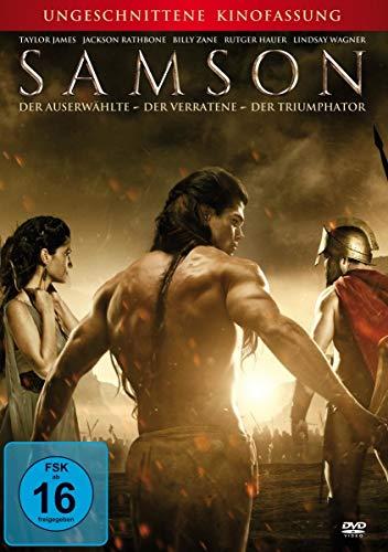 DVD - Samson - Der Auserwählte - Der Verratene - Der Triumphator (Uncut)