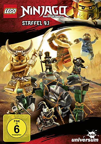 DVD - LEGO Ninjago - Masters Of Spinjitzu - Staffel 9.1