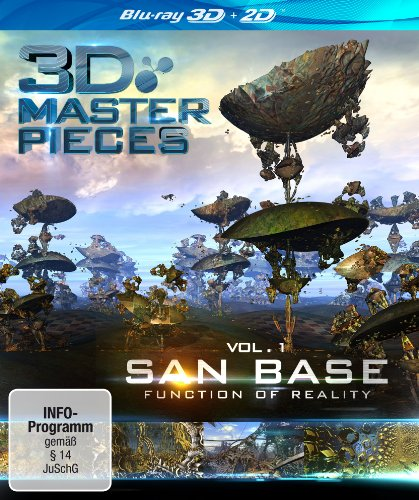 - 3D Masterpieces: San Base - Function of Reality [Blu-ray]