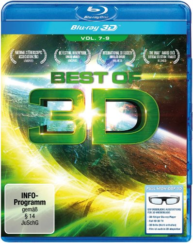 Blu-ray - Best Of 3D 7-9 3D