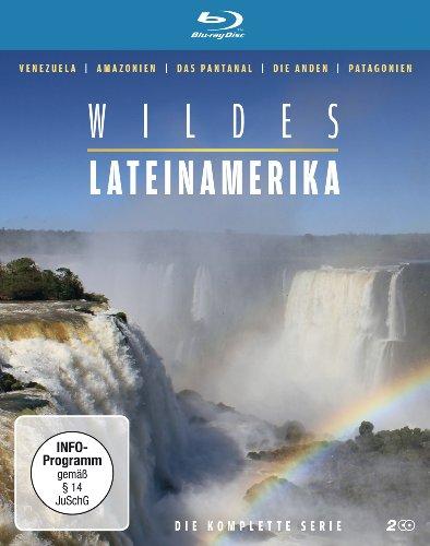 Blu-ray - Wildes Lateinamerika - Die komplette Serie (Venezuela, Amazonien, Pantanal, Anden, Patagonien) [2 Blu-rays]