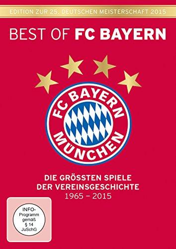 DVD - Best of FC Bayern - Die größten Spiele der Vereinsgeschichte