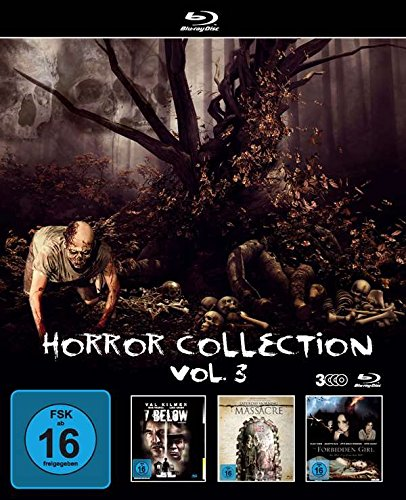 Blu-ray - Horror Collection Vol. 3 (7 Below - Haus der dunklen Seelen / Saturday Morning Massacre / The Forbidden Girl) (3 Disc Set)