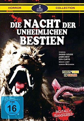 DVD - Die Nacht Der Unheimlichen Bestien