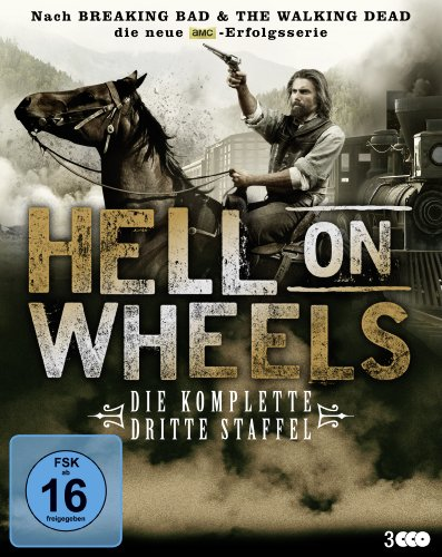 Blu-ray - Hell On Wheels - Staffel 3