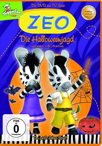 DVD - Zeo - Die Helloweenjagd und weitere tolle Abenteuer