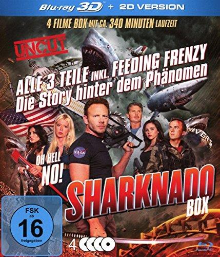 Blu-ray - Sharknado Box 3D (Teil 1 - 3)