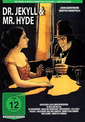 DVD - Dr. Jekyll und Mr. Hyde (1920) (kolorierte Fassung)