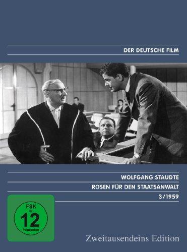 DVD - Rosen für den Staatsanwalt (Zweitausendeins Edition / Der Deutsche Film 3/1959)