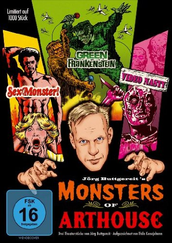 DVD - Monsters of Arthouse (Limited Edition)