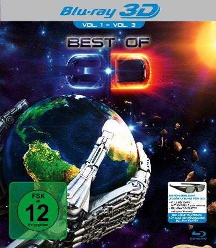 - Best Of 3D Vol. 1 - Vol. 3 (exklusiv bei Amazon.de) [3D Blu-ray]