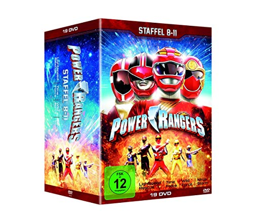 DVD - Power Rangers - Staffel 8-11 (19-DVD SET)