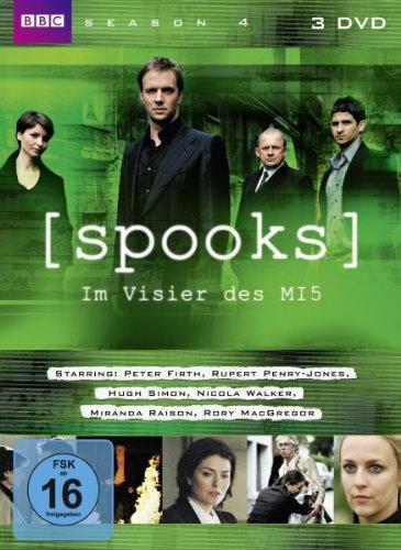 DVD - Spooks - Im Visier des MI5 - Staffel 4