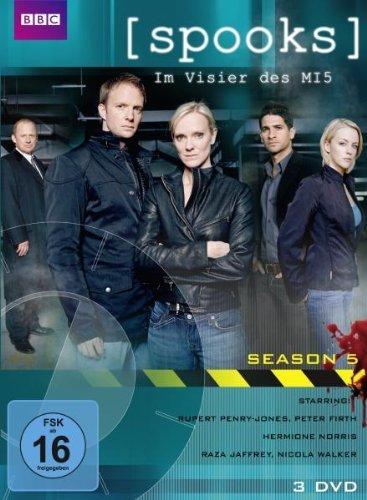 DVD - Spooks: Im Visier des MI5 - Season 5 (BBC) [3 DVDs]