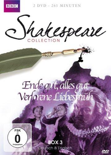 - Shakespeare Collection 3: Ende gut, alles gut/Verlorene Liebesmüh [2 DVDs]