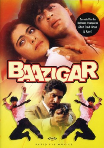 DVD - Baazigar (Rapid Eye Movies)
