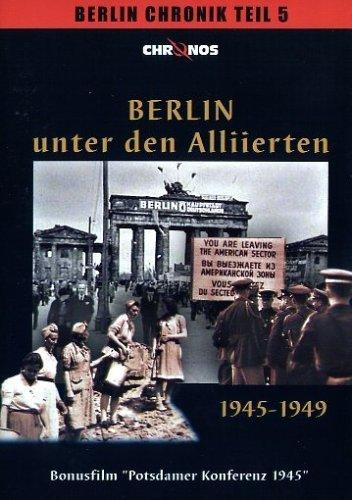 DVD - Berlin unter den Alliierten - 1945-1949