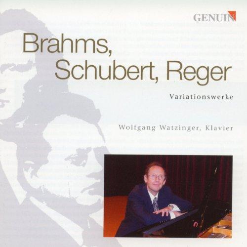 Watzinger , Wolfgang - Brahms, Schubert, Reger