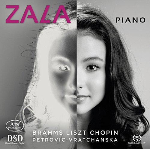 Kravos , Zala - Zala - Piano - Works By Brahms Liszt Chopin Petrovic-Vratchanska (SACD)