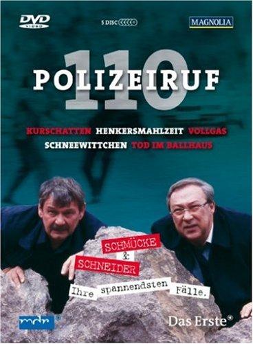 DVD - Polizeiruf 110 - Schmücke & Schneider