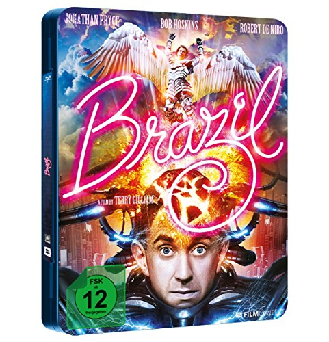 Blu-ray - Brazil (Limited Steelbook FuturePak Edition)