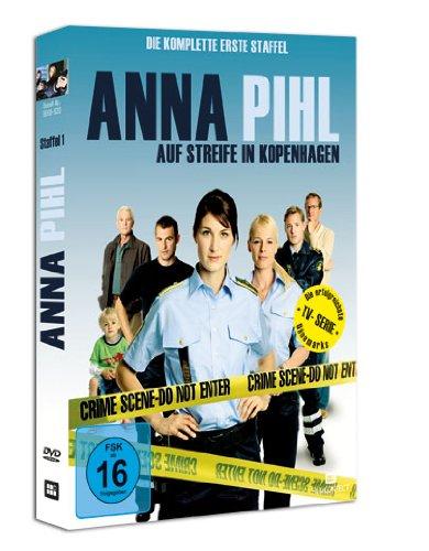 DVD - Anna Pihl - Auf Streife in Kopenhagen - Staffel 1 (3 DVDs)