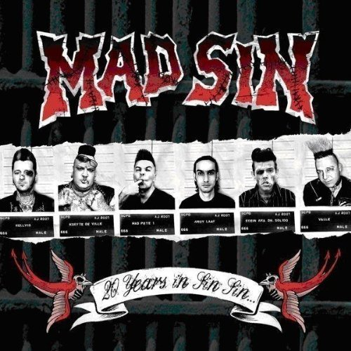 Mad Sin - 20 Years in Sin Sin (Limited DigiPak)