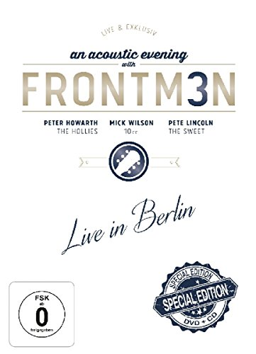 Frontm3n - An Acoustic Evening With Frontm3n - Live In Berlin (Howarth / Wilson / Lincoln) (Special DVD+CD Edition)