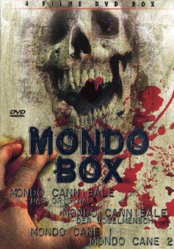 DVD - Mondo Box (Mondo Cannibale / Mondo Cannibale - Der Vogelmensch / Mondo Cane 1 / Momdo Cane 2 (4 Filme DVD Box)