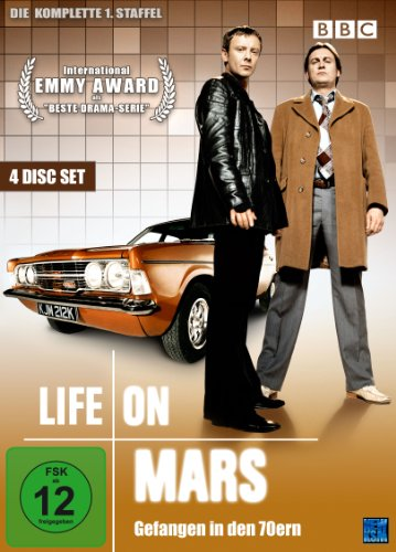 DVD - Life on Mars - Gefangen in den 70ern - Staffel 1