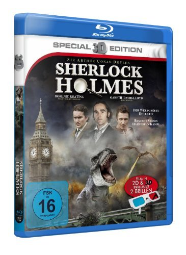 Blu-ray - Sherlock Holmes (3D-Special Edition)