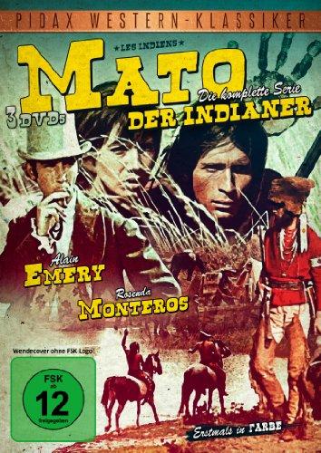 DVD - Mato, der Indianer - Die komplette Serie (Pidax Western-Klassiker)