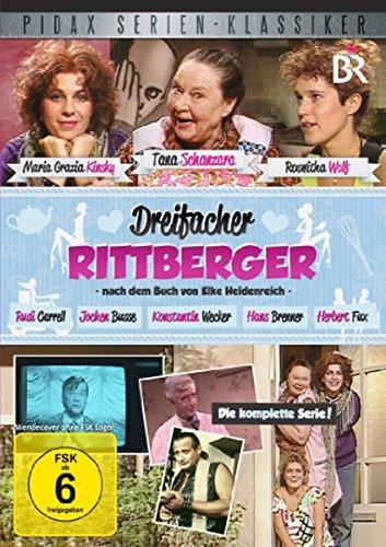 DVD - Dreifacher Rittberger - Die komplette Serie (PIDAX Serien-Klassiker)