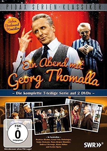 DVD - Ein Abend mit Georg Thomalla - Die komplette Serie (PIDAX Serien-Klassiker)