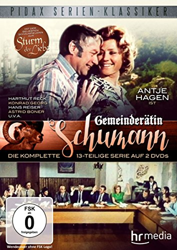 DVD - Gemeinderätin Schumann - Die komplette Serie