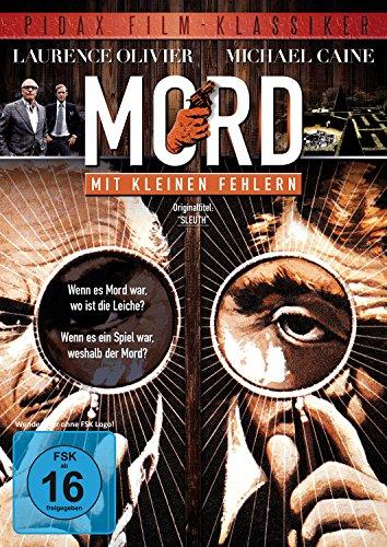 - Mord mit kleinen Fehlern (Sleuth) / Hervorragender Kriminalfilm mit Laurence Olivier und Michael Caine (Pidax Film-Klassiker)