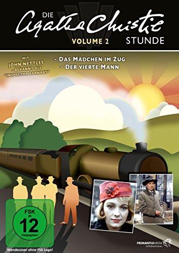DVD - Die Agatha Christie Stunde 2 (Das Mädchen im Zug / Der vierte Mann)