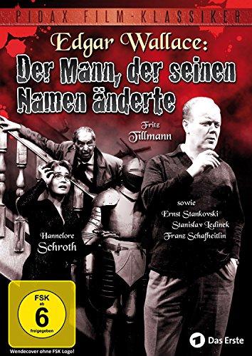 DVD - Edgar Wallace: Der Mann, der seinen Namen änderte (PIDAX Film-Klassiker)