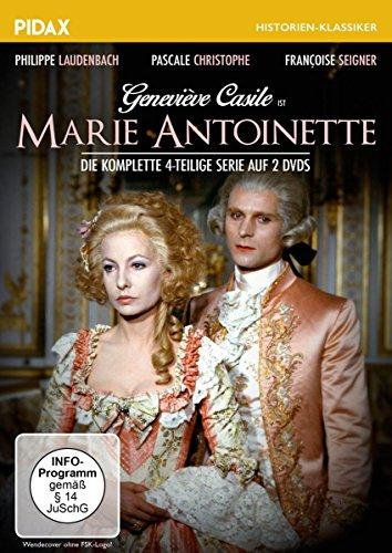 - Marie Antoinette / Der komplette, aufwändige und realistische Historien-Vierteiler über das tragische Leben der französischen Königin (Pidax Historien-Klassiker) [2 DVDs]