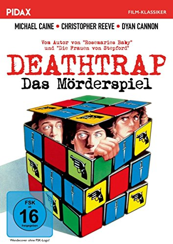 DVD - Deathtrap - Das Mörderspiel (PIDAX Film-Klassiker)