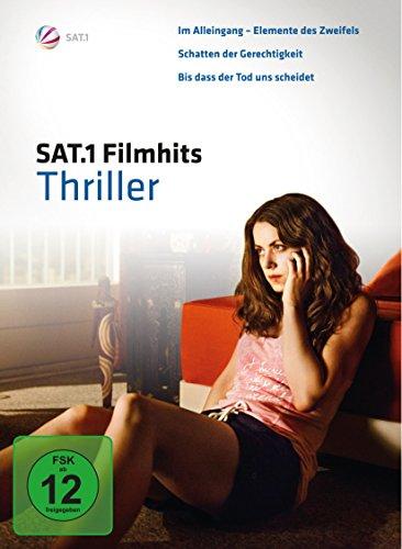DVD - SAT.1 Filmhits - Thriller (Im Alleingang / Schatten der gerechtigkeit / Bis das dass der Tod uns scheidet)