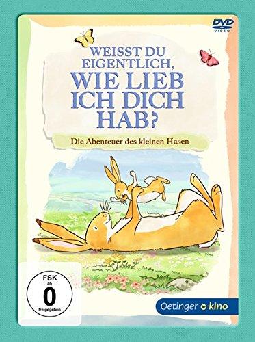 DVD - Weißt du eigentlich, wie lieb ich dich hab? - Die Abenteuer des kleinen Hasen