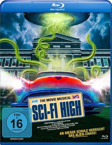 Blu-ray - Sci-Fi High: The Movie Musical