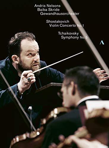 Neslons , Andris & Skride , Baiba & Gewandhausorchester Leipzig - Shostakovich: Violin Concerto No. 1 / Tchaikovsky: Symphony No. 5