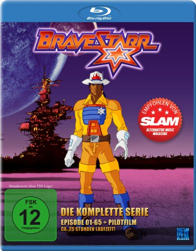 Blu-ray - Bravestarr - Die komplette Serie (Episoden 1-65 + Pilotfilm) [Blu-ray]