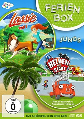 DVD - FerienBox Jungs (Lassie 1 / Helden der Stadt - Fona Feuerwehrs Abenteuer-Hörspiel) (DVD CD)