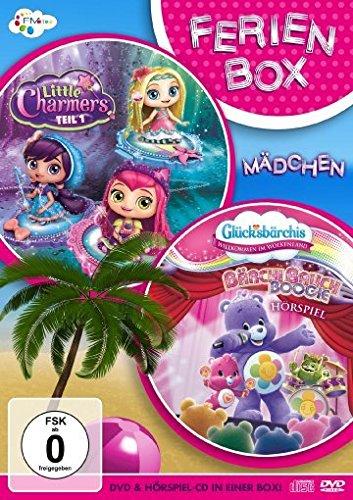 DVD - FerienBox Mädchen (Little Charmers 1 / Glücksbärchis - BärchiBauch Boogie-Hörspiel) (DVD CD)