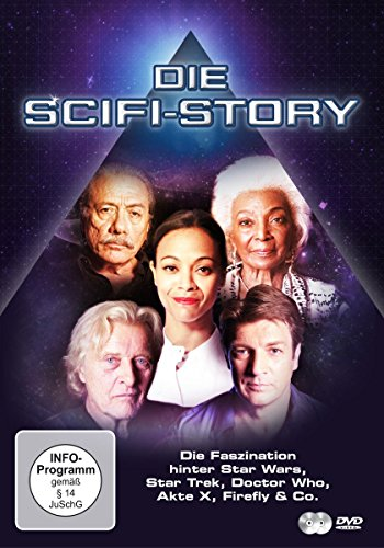 DVD - Die Scifi-Story - Die Faszination hinter Star Wars, Star Trek, Doctor Who, Axte X, Firefly & Co.